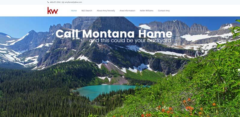 call montana home real estate screenshot