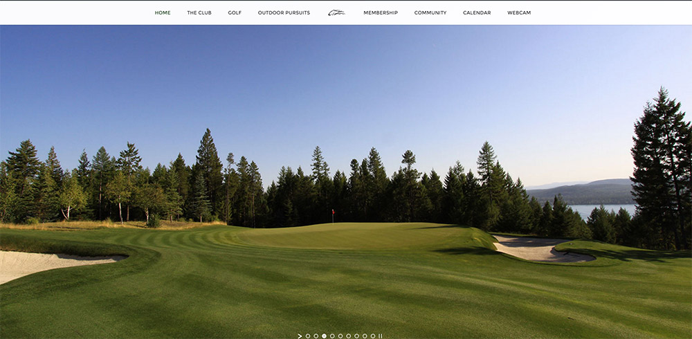 iron horse golf club screenshot