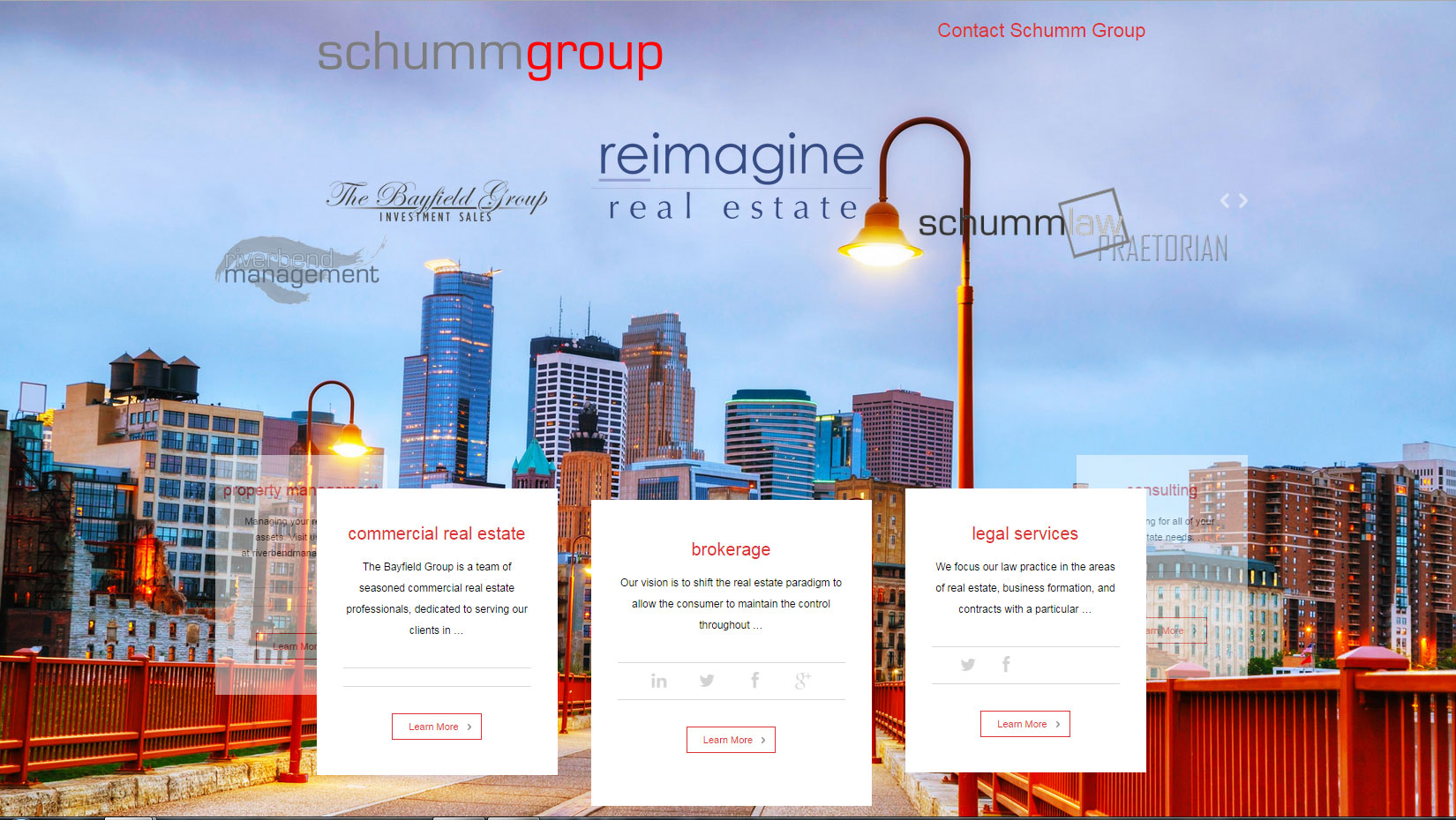 Schumm Group screenshot