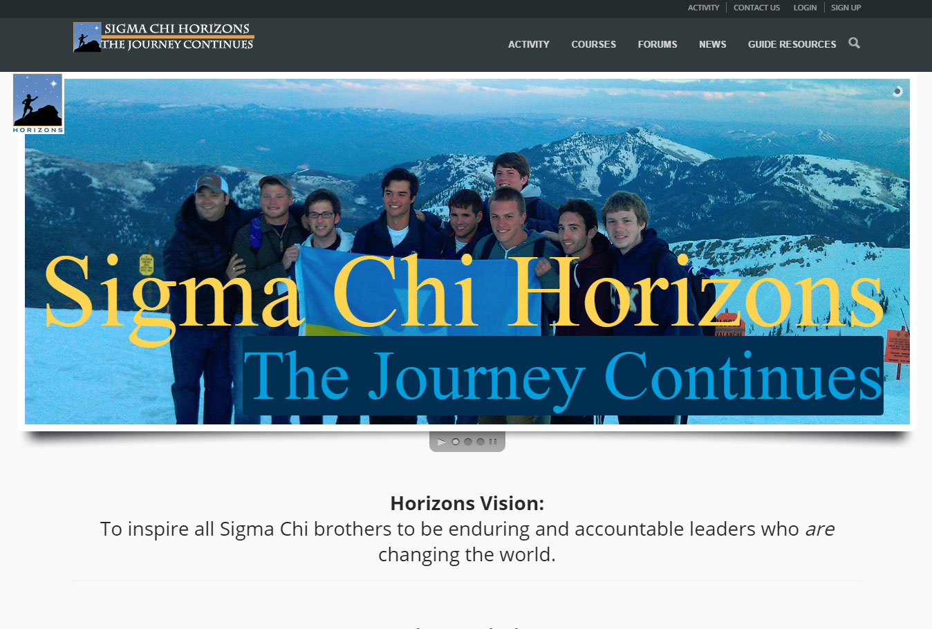 Sigma Chi Horizons Leadership Summit