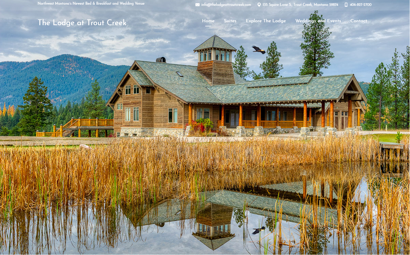 the lodge at trout creek screenshot