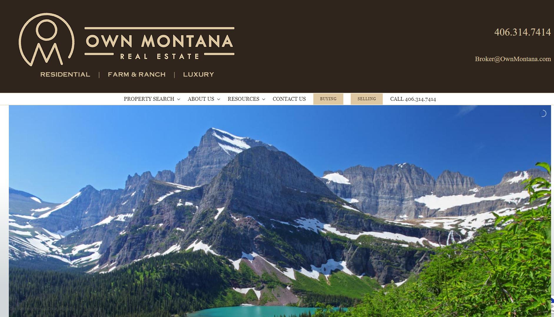 Own Montana Real Estate – Whitefish, Montana