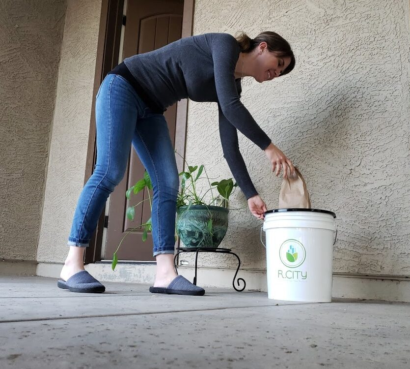 In-home Composting services for Arizona Residents