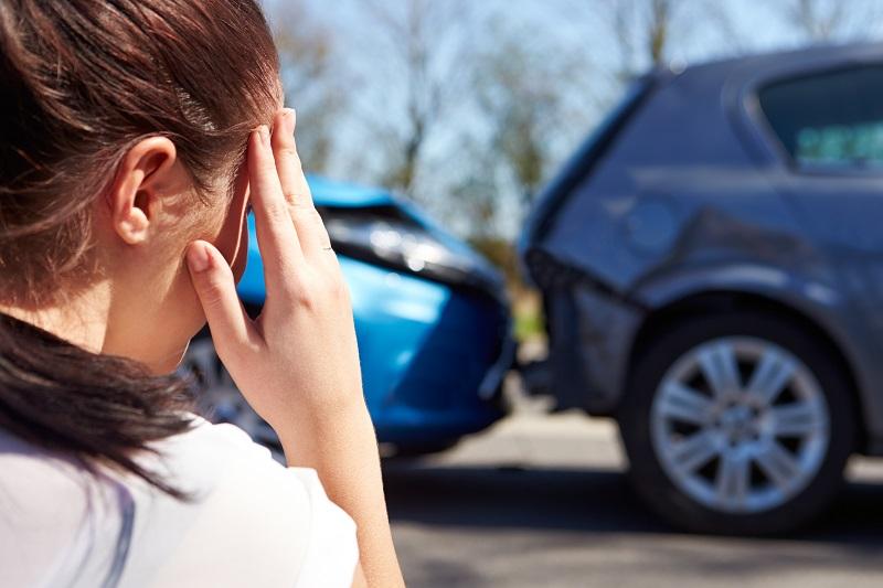 Car Crash Face Injury