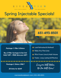 Spring Injectable Specials