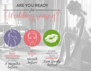 Cosmetic Wedding Treatments
