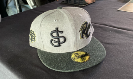 One Hat for Two Minor League Teams!
