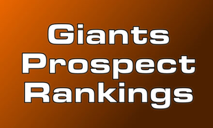 MLB.com and Keith Law's Top Giants Prospect Lists Announced