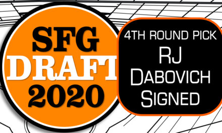 Giants Sign 4th Round Pick RJ Dabovich