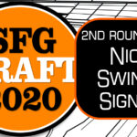 Giants Sign 2nd Round Pick Nick Swiney