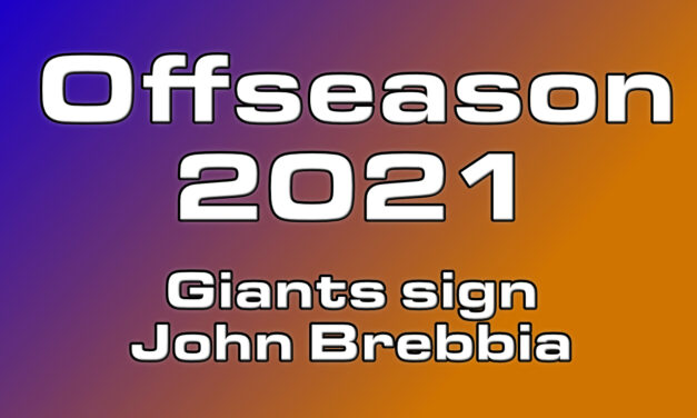 Giants sign reliever John Brebbia to fill out Bullpen