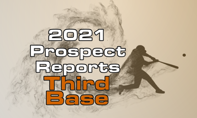 2021 Top Third Base Prospect Rankings