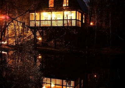 night-cabin