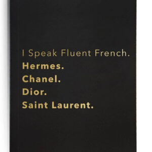 I speak Fluent French
