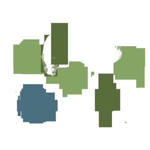 shrubs and trees icon