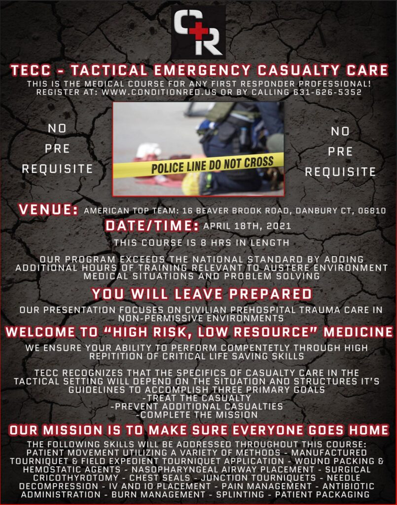 TECC - Tactical Emergency Casualty Care