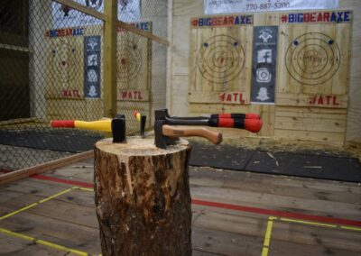 Freedom Axe Throwing Background