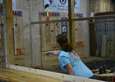 Freedom Axe Throwing Action 1