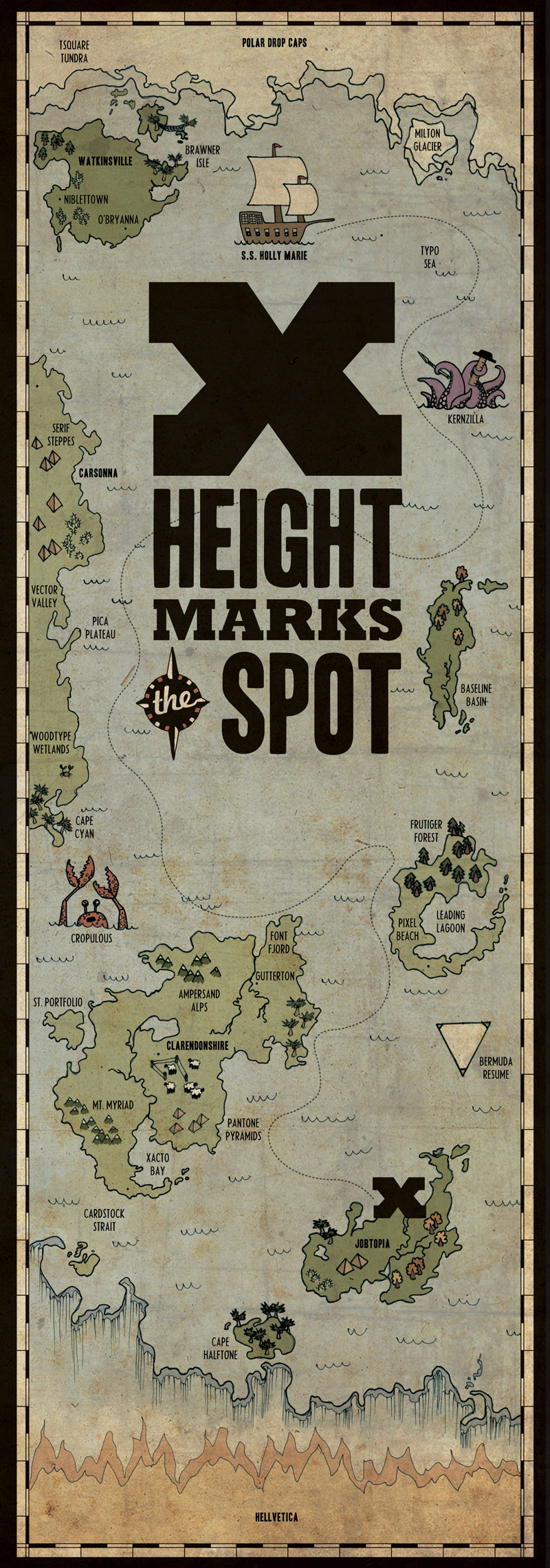X-Height Marks the Spot