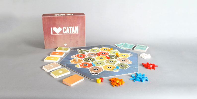 Settlers of Catan Board Game Redesign
