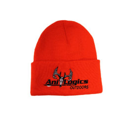 ani-logics blaze orange cuffed hat