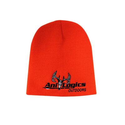 ani-logics blaze orange skull cap