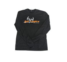 ani-logics charcoal longsleeve shirt