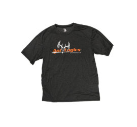 ani-logics dark gray t-shirt