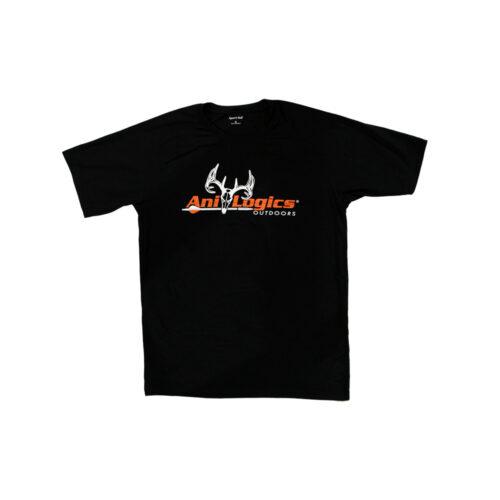 ani-logics favorite black t-shirt