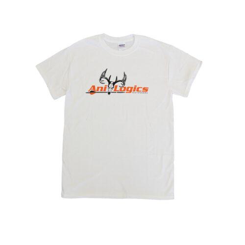 ani-logics original white t-shirt