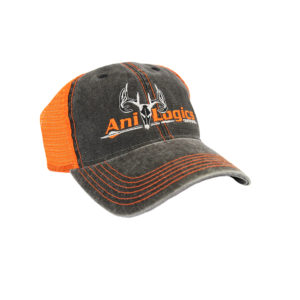 ani-logics gray orange hat