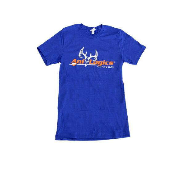 ani-logics blue t-shirt