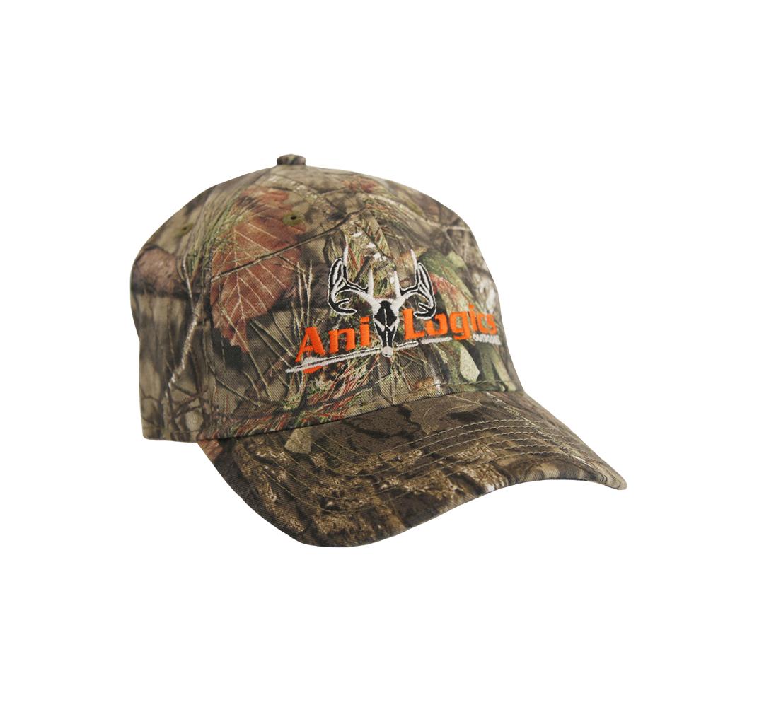 ani-logics mossy oak full camo hat