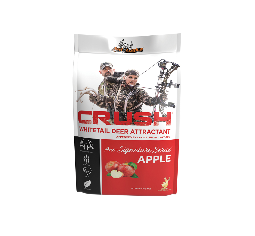 Crush Apple Granular 5lb Deer Attractant