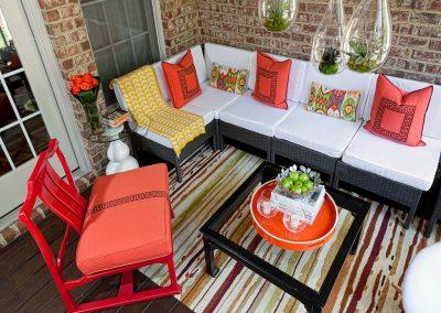 throw pillows-outdoor space