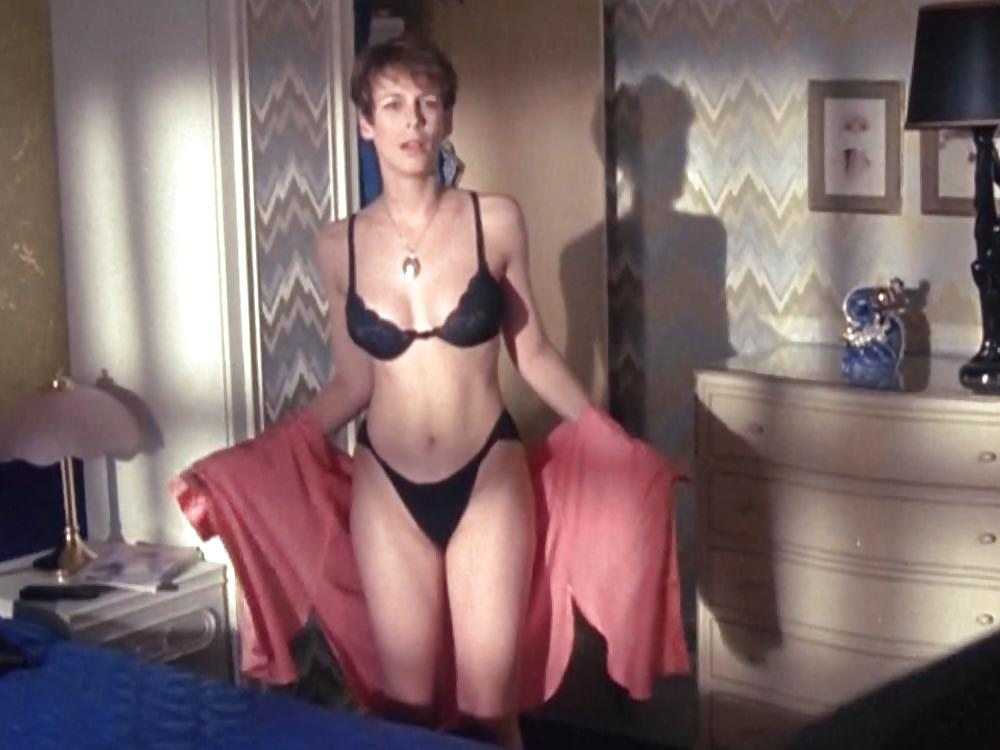jamie lee curtis in true lies black bikini