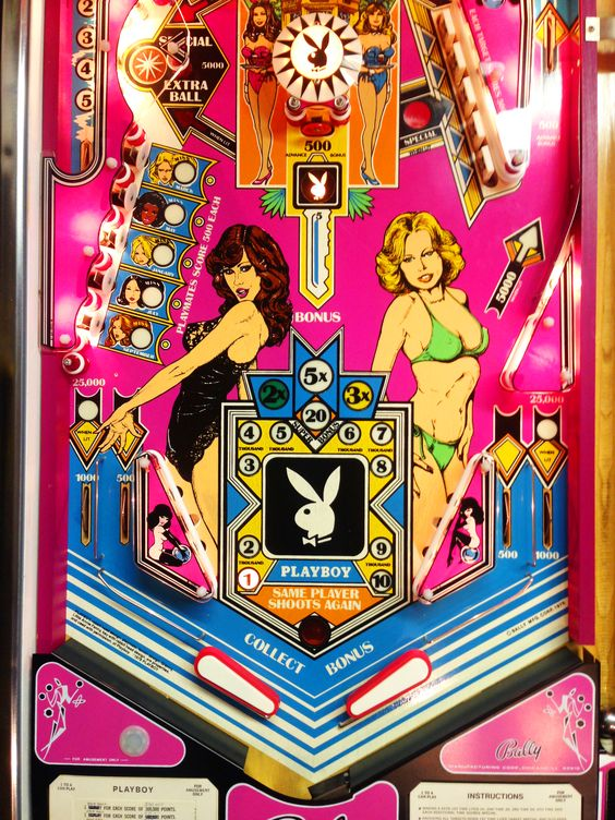 playboy pinball by bally