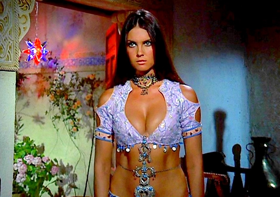 the sizzling caroline munro horror scream queen legend
