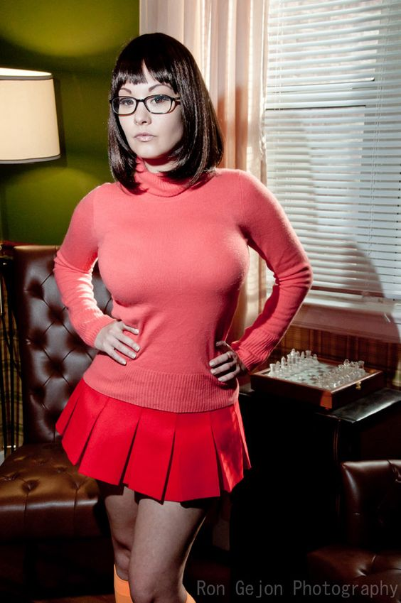 asian cosplay velma scooby doo