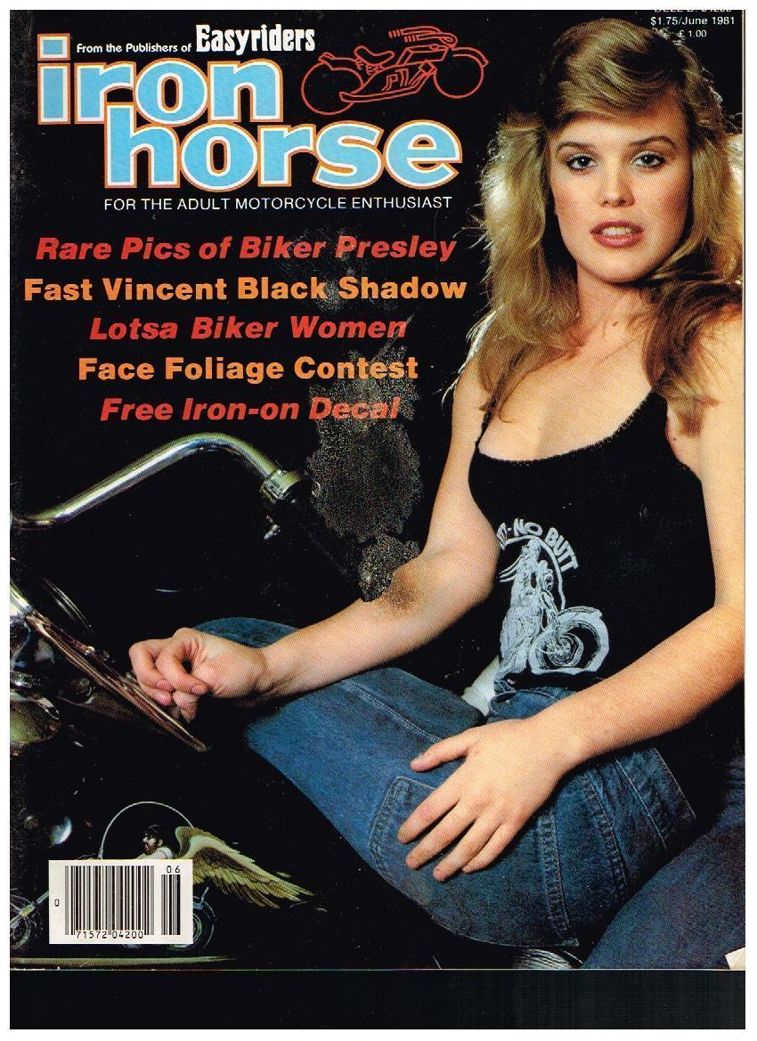 iron horse cover 1981 black top