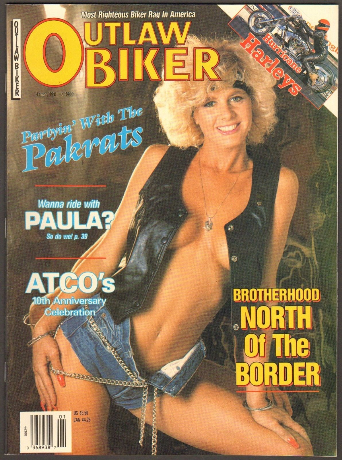 outlaw biker magazine cover