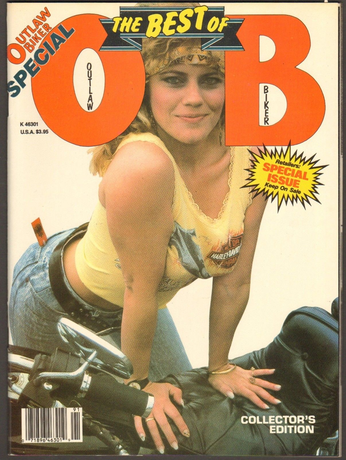 best of outlaw biker cover collector's edition