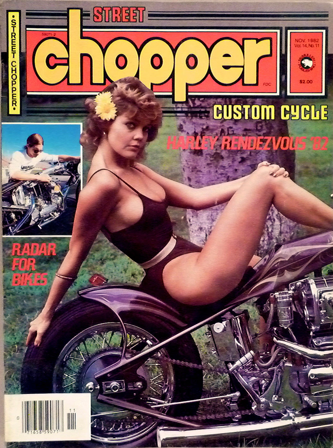 street chopper magazine cover 1982