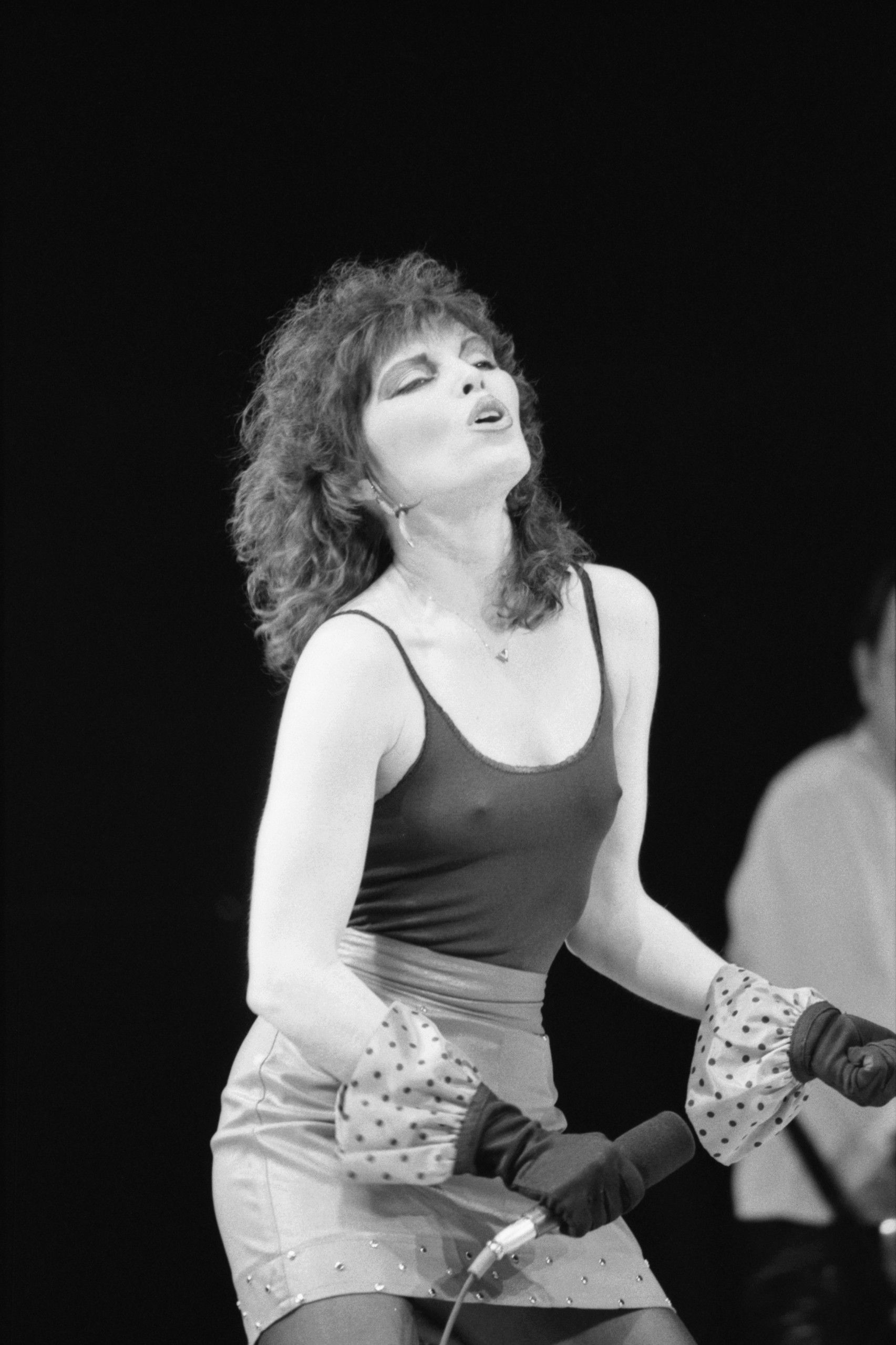 pat benatar nipples black and white