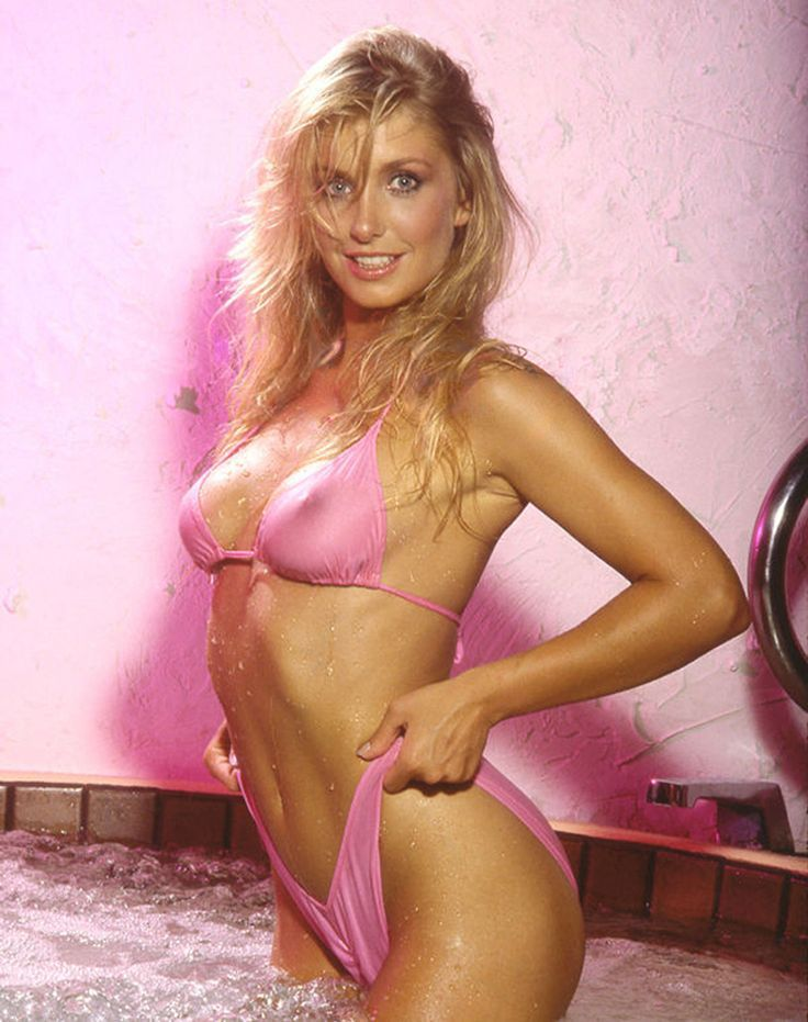 heather thomas pink bikini nipples