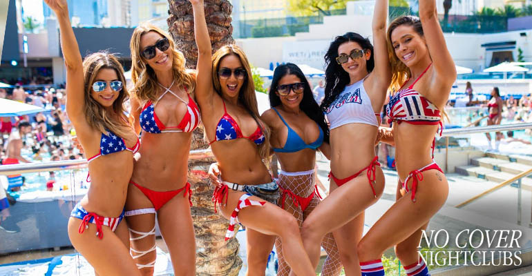 red white and blue bikinis las vegas