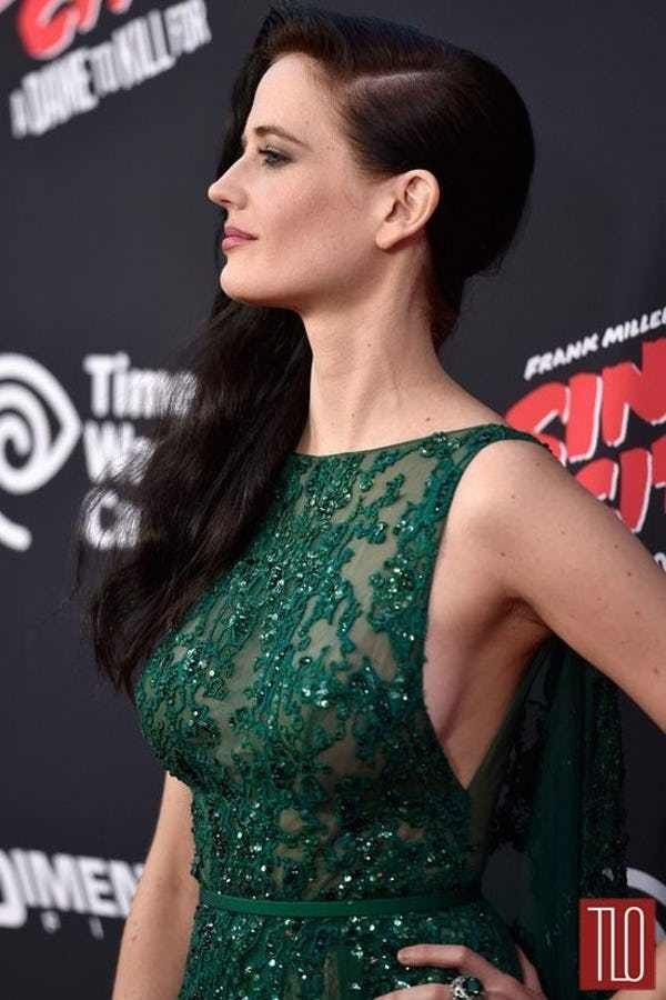 eva green red carpet sin city