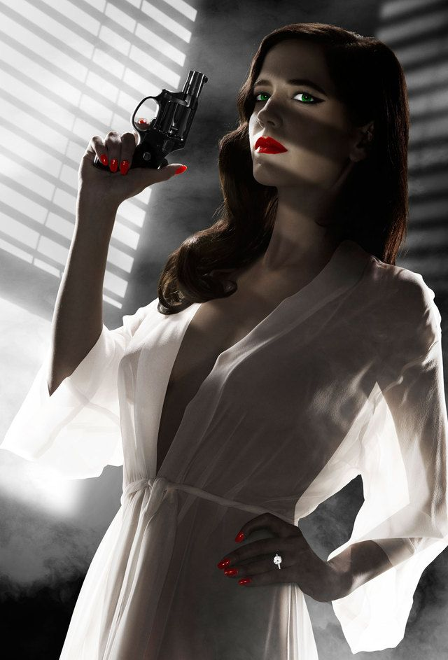 eva green poster from sin city