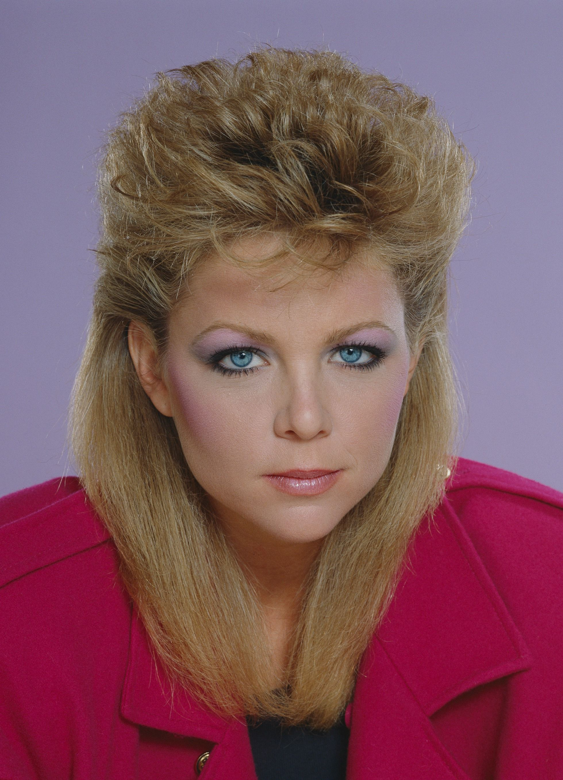 lisa hartman big mullet hair