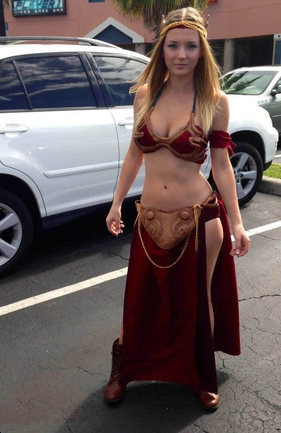 revenge of the jedi sexy cosplay white suv